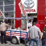 Toyota open dag kraam
