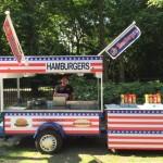 hotdogs en hamburgers