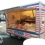 Grote hotdogkar
