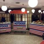 Voorbeeld losse opstelling hotdogkar